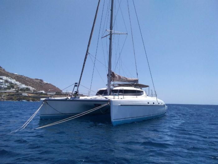 Ouranos catamaran